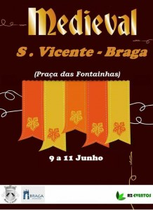 Feira Medieval 2017 - cartaz