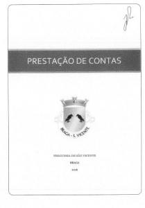 Prestação contas 2016 S. Vicente