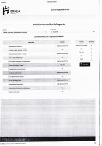 Mandatos S. Vicente 2017-2021